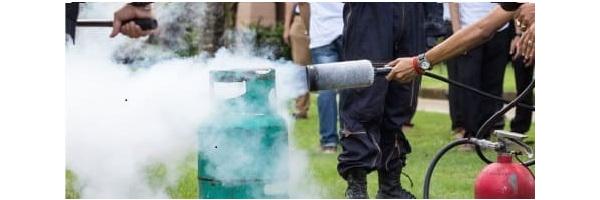 Co2-Feuerlöscher Kohlensäure